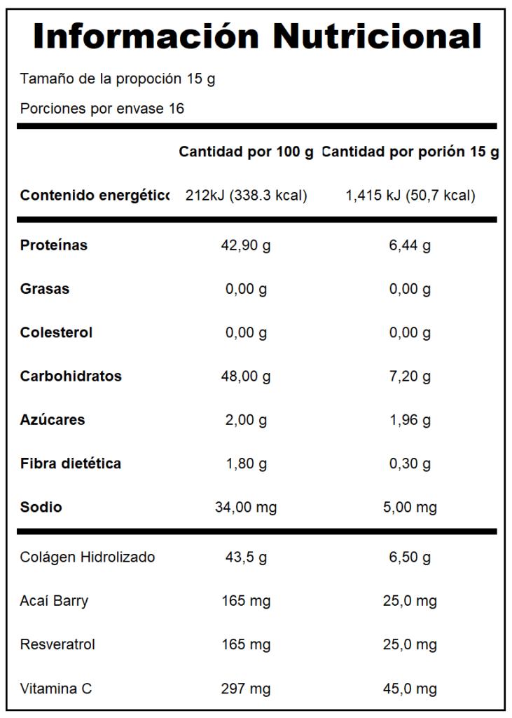 Colágeno Hidrolizado Orgánico